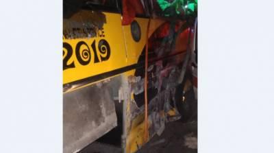 ڈی آئی خان، کوچ اور ٹرک میں تصادم، 9 مسافر جاں بحق