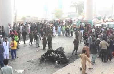 لاہور میں رکشہ میں دھماکہ، 7 افراد زخمی