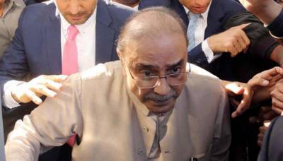 زرداری نے طبی بنیادوں پر درخواست ضمانت دائر کر دی