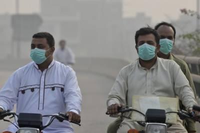 لاہور میں ایئر کوالٹی انڈیکس خطرناک حد تک بڑھ گیا