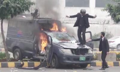 ہنگامہ آرائی کرنے والے وکلاءنہیں کسی پارٹی کے رکن ہیں:صدر لاہور ہائیکورٹ بار