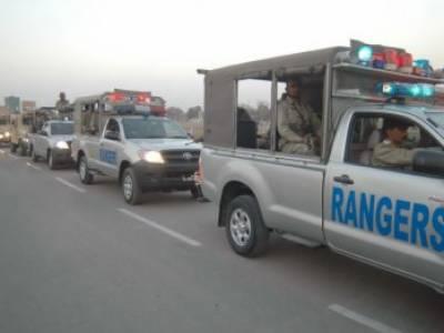 لاہور میں امن وامان کی صورتحال کے پیش نظر رینجرز تعینات