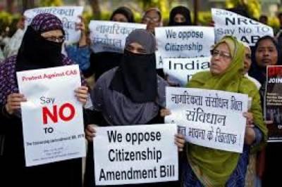 بھارتی صدر کے دستخط کے بعد متنازع شہریت بل قانون بن گیا