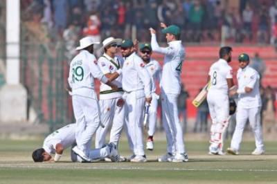 سری لنکا کو آخری میچ میں 263 رنز سے شکست،پاکستان نے ٹیسٹ سیریز جیت لی