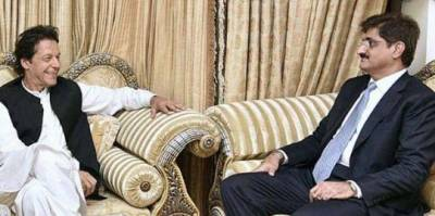وزیراعظم سے وزیراعلیٰ سندھ مراد علی شاہ کی ملاقات، صوبے سے متعلق پراجیکٹس پر تبادلہ خیال