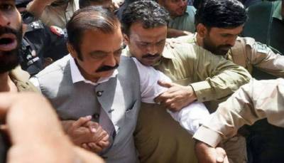 رانا ثنا اللہ کو ڈسٹرکٹ کیمپ جیل لاہور سے رہا کردیا گیا