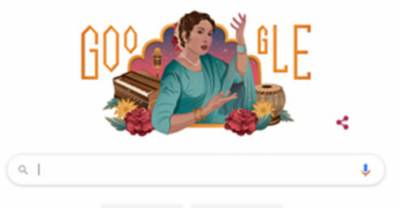گوگل کا ڈوڈل ملکہ غزل اقبال بانو کے نام