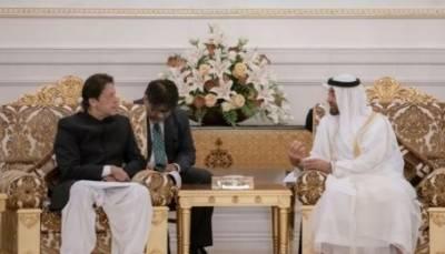 وزیراعظم اور ابوظہبی کے ولی عہد کی ملاقات ، باہمی دلچسپی کے امور پر تبادلہ خیال