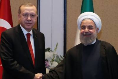 ایرانی صدر حسن روحانی کا طیب اردوان سے ٹیلیفونک رابطہ