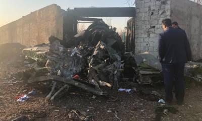 ایران میں مسافر طیارہ گر کر تباہ، 170 مسافر ہلاک