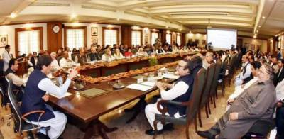 وزیر اعظم عمران خان کی زیر صدارت وفاقی کابینہ کا اجلاس آج ہوگا