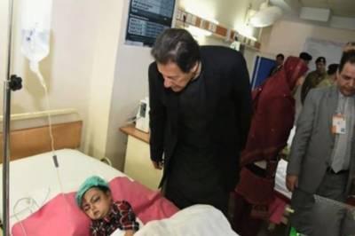 وزیراعظم کا مظفر آباد کا دورہ، لینڈ سلائیڈنگ سے زخمی ہونیوالوں کی عیادت کی