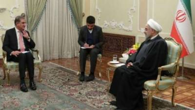 ایرانی صدر سے ملاقات کا پہلا مقصد تناﺅ میں کمی لانا تھا:شاہ محمود قریشی
