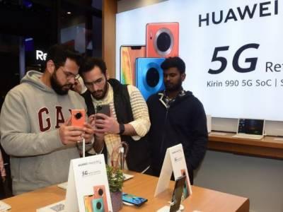 ہواوے نے کویت میں فائیو جی سمارٹ فون متعارت کر ادیا