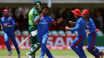 انڈر19 ورلڈ کپ، افتتاحی میچ میں افغانستان نے جنوبی افریقہ اپ سیٹ کردیا