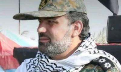 جنرل سلیمانی کا قریبی ساتھی کمانڈر قاتلانہ حملے میں جاں بحق