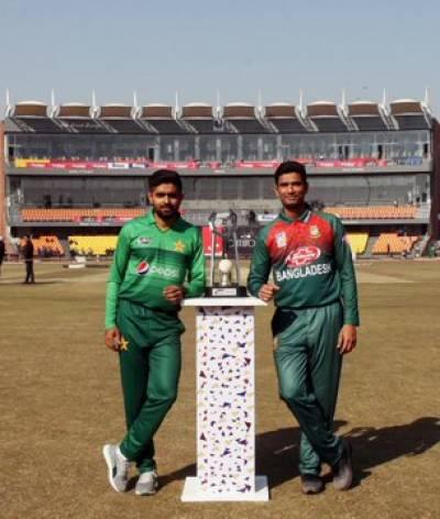 پاکستان اور بنگلہ دیش کے درمیان پہلا ٹی 20آج کھیلا جائیگا