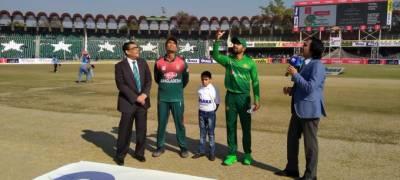 پہلا ٹی 20:بنگلہ دیش کا پاکستان کے خلاف ٹاس جیت کر بیٹنگ کا فیصلہ