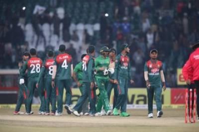 پاکستان اور بنگلہ دیش کا دوسرا ٹی 20آج کھیلا جائیگا