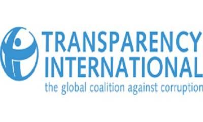 پاکستان میں کرپشن میں اضافہ نہیں ہوا: ٹرانسپرنسی انٹرنیشنل