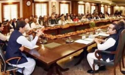 وفاقی کابینہ اجلاس : جی ڈی اے کا آئی جی سندھ کے معاملے پر تحفظات کا اظہار