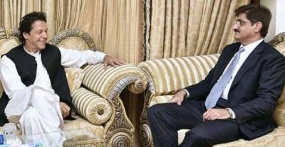 وزیراعظم کا وزیراعلیٰ سندھ مراد علی شاہ کے درمیان ٹیلیفونک رابطہ