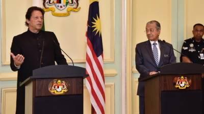 پاکستان اور ملائیشیا کا مسلم امہ کو درپیش چیلنجز کیلئے ملکر کام کرنے پر اتفاق