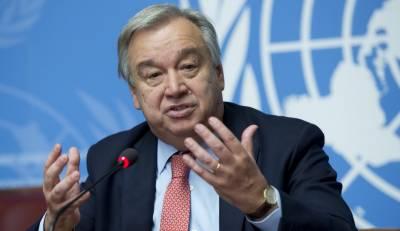 اقوام متحدہ کے سیکرٹری جنرل کل پاکستان پہنچیں گے