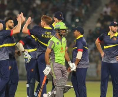 لاہور قلندرز کو ایم سی سی نے چار وکٹوں سے شکست دے دی