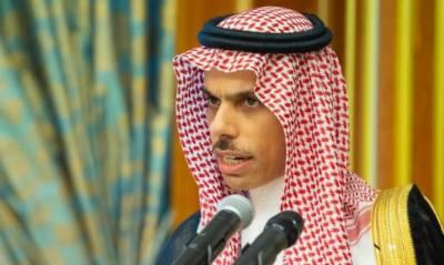 ایران کسی بات چیت سے قبل اپنے کردار میں تبدیلی لائے، سعودی وزیرخارجہ