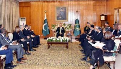 صدر مملکت سے اقوام متحدہ کے سیکرٹری جنرل کی ملاقات ، پناہ گزینوں کیلئے خدمات کو سراہا