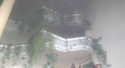پارلیمنٹ لاجز اسلام آباد میں مریم اورنگزیب کے فلیٹ میں لگی آگ بجھا دی گئی