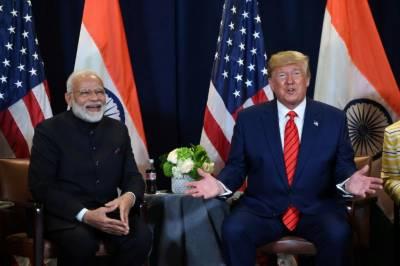 دورہ بھارت، ٹرمپ پاکستان سے کشیدگی کم کرنے پر زور دینگے