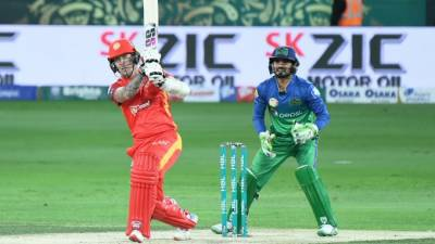 اسلام آباد یونائیٹڈ نے ملتان سلطانز کو باآسانی 8 وکٹوں سے شکست دےدی