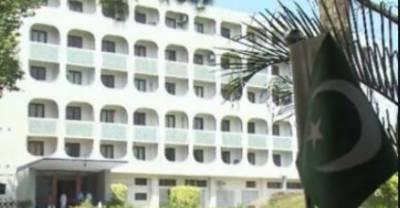 بھارتی سفارتکار کی دفتر خارجہ طلبی، جنگ بندی کی خلاف ورزیوں پر پاکستان کا شدید احتجاج