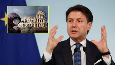 اٹلی کی تازہ ترین صورتحال انتہائی تشویشناک ،اطالوی وزیرا عظم کا اہم بیان