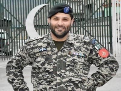 طور خم بارڈر پر تعینات پاک فوج کے میجر اصغر کورونا وائرس سے شہید