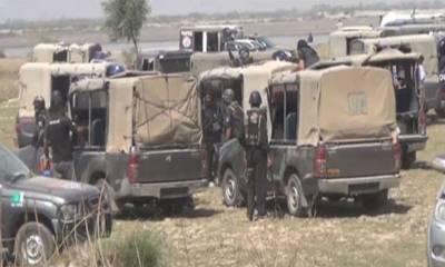 راجن پور: ڈاکوؤں نے 4 پولیس اہلکاروں کو اغوا کرلیا