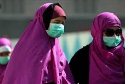 ماسک نہ پہننے پر سعودی عرب میں ایک ہزار ریال جرمانہ