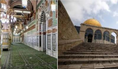 مسجدنبویۖ اور مسجد الاقصیٰ کو عام نمازیوں کیلئے کھول دیا گیا