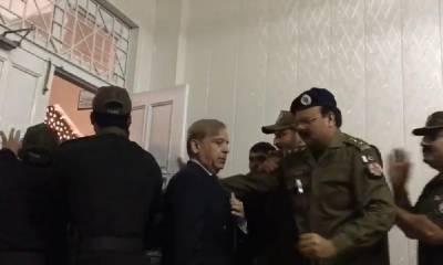 شہبازشریف کی پیشی: نیب، ن لیگی قیادت اور پولیس عدالت پہنچ گئے
