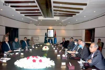 وزیراعظم عمران خان کا آرمی چیف کے ہمراہ آئی ایس آئی ہیڈ کوارٹرز کا دورہ