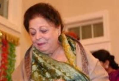 لیجنڈ اداکارہ صبیحہ خانم امریکی ریاست ورجینیا میں انتقال کر گئیں