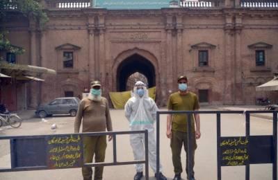 کورونا وائرس، پنجاب میں لاک ڈاؤن میں توسیع کر دی گئی