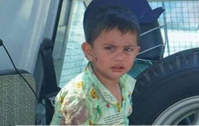 مقبوضہ کشمیر، بھارتی فورسز کی بے رحمی، نواسے کے سامنے نانا شہید