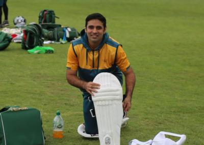 پاکستانی ٹیم کی وورسٹر میں ٹریننگ ، کھلاڑیوں نے سیشن میں حصہ لیا