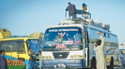 سندھ حکومت نے انٹر سٹی ٹرانسپورٹ سروس پر پابندی ختم کر دی