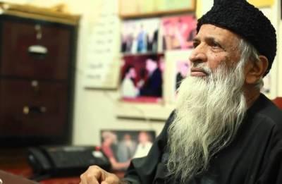 انسانیت کا درد رکھنے والے عبدالستار ایدھی کو ہم سے بچھڑے 4 سال بیت گئے