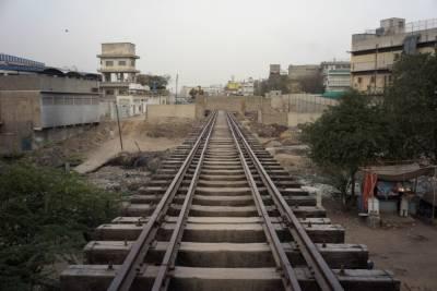 کراچی میں سرکلر ریلوے منصوبے پر کام کا آغاز ہو گیا