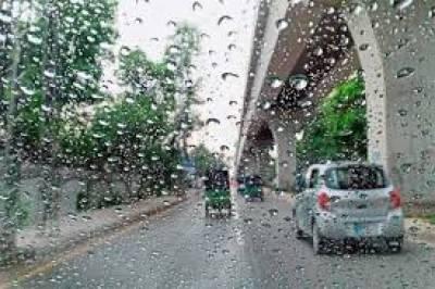 ملک بھر میں آج گرج چمک کے ساتھ بارش کا امکان